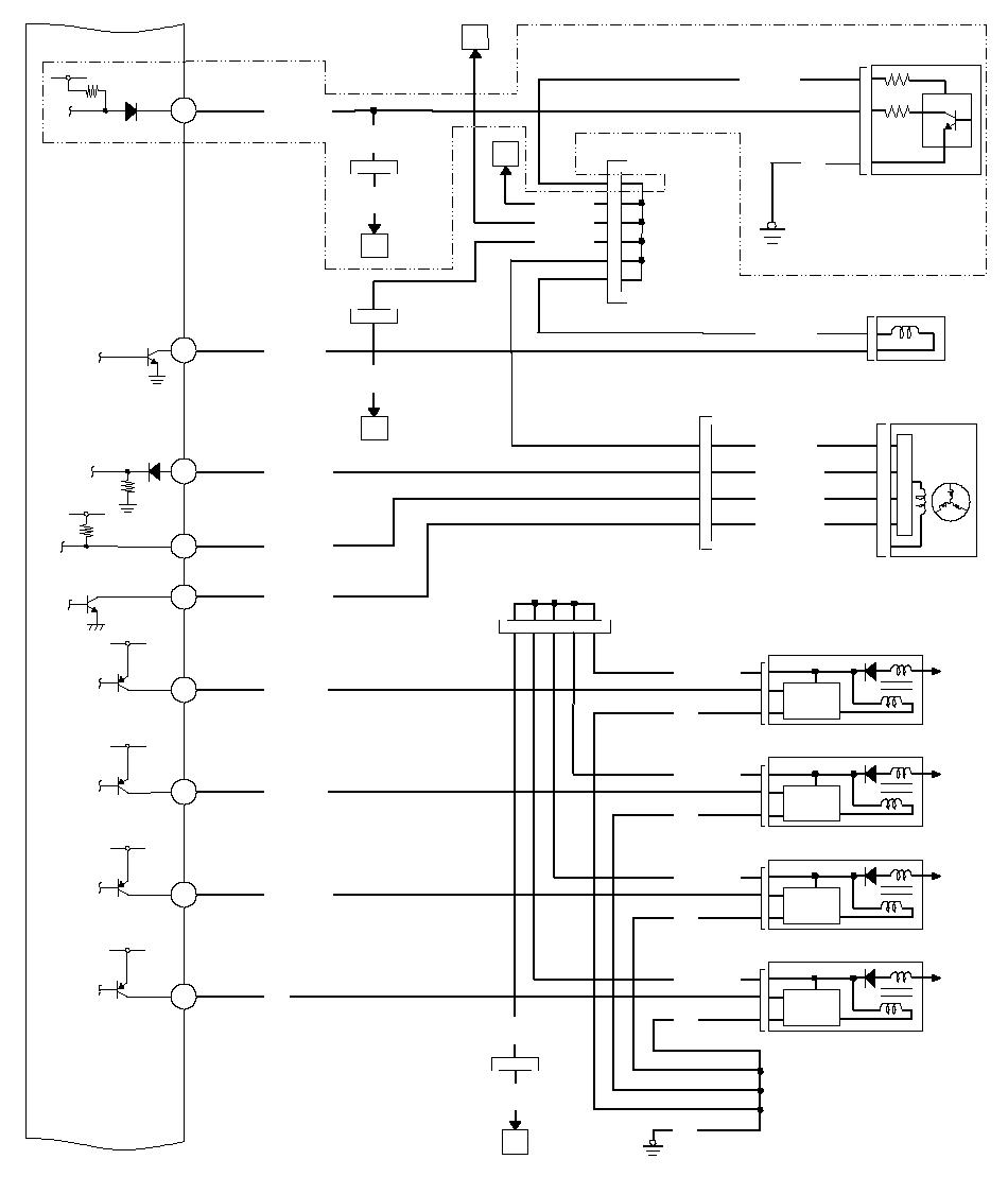 схема подачи тока на катушки хонда срв