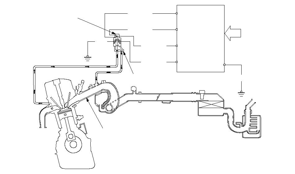 схема выхлопных газов мазда 626