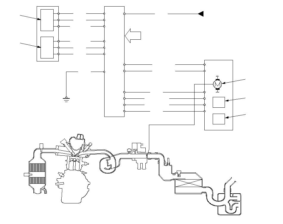 Схема системы электронного