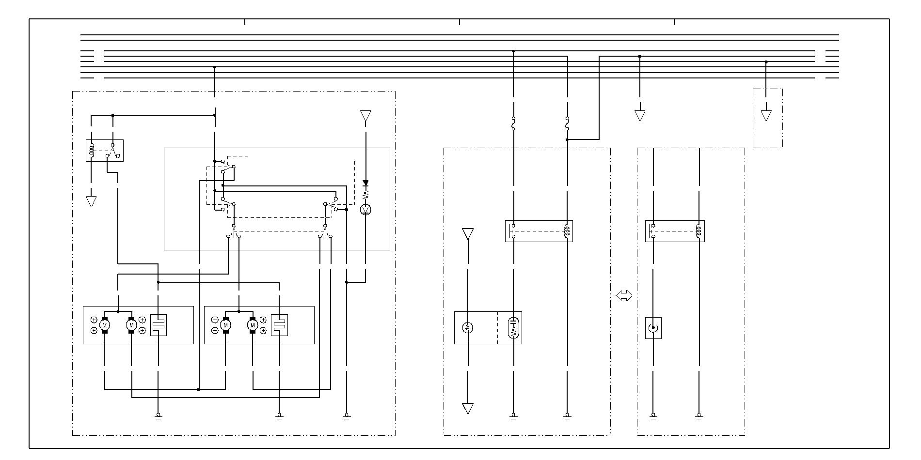 схема проводки хонда d 14
