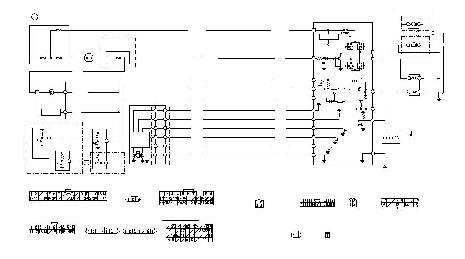 Электрическая схема цепи EPS